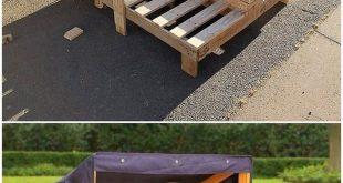 Kreative DIY Recycling Ideen für den Versand von Holzpaletten