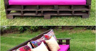 Kreative Palettenideen, die leicht zu machen sind #gardenfurniture #kreative #l...