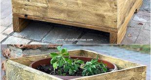 Kreative Tipps zur Wiederverwendung von Paletten aus geschabtem Holz