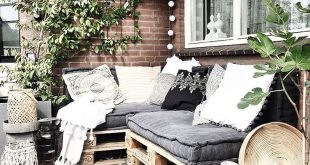Love this for a big deck easy to bring cushions and pillows out