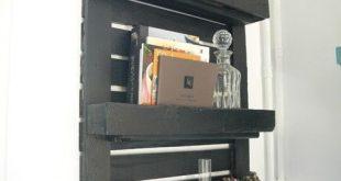 Machen Sie aus einer kleinen Palette ein Regal - DIY - Shelves - #aus #DIY #ei...