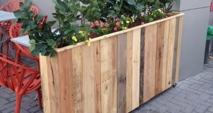 Neue Pläne Dekoration des Gartens mit recycelten Palettenpflanzgefäßen #decor...