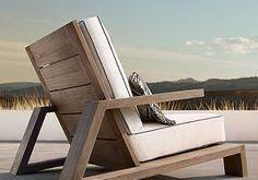 Olema Teak Lounge Chair #WoodworkingFurnitureChair