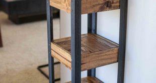 Palette Holz Bücherregal