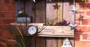 Palettenpflanzenhalter - #Palettenpflanzenhalter - Helmina Dillinger