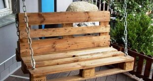 Pallet Garden / Porch Swing - 20 Pallet Ideas You Can DIY for Your Home | 99 Pal...