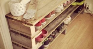Put order in the hall – build a shoe rack yourself