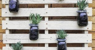 Recycled wood pallet planter projects