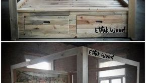 Superb Ideas of Old Wood Pallets Reusing