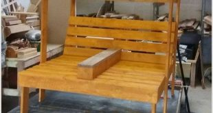 You can now make this beautiful pallet wood project for your children. This item...