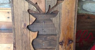 faux taxidermy deer, Pallet wood deer cut out, deer hear wall decor, Hunting Trophy Sign, rustic pallet sign, wall animal head, fauxidermy